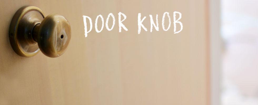 DOORKNOB ドアノブ